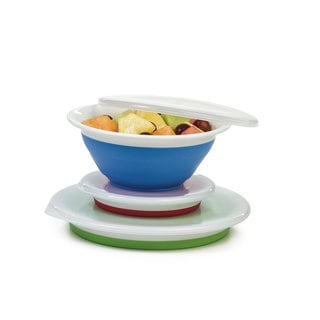Progressive International Prepworks Collapsible Storage Bowls
