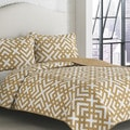 Adrienne Vittidini Sylvie Camel 3-piece Quilt Set