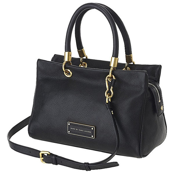 Marc by Marc Jacobs Black Too Hot To Handle Satchel