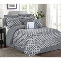 Jenny Grey 7-piece Comforter Set