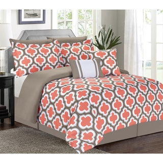 Greengate Coral 7-piece Comforter Set