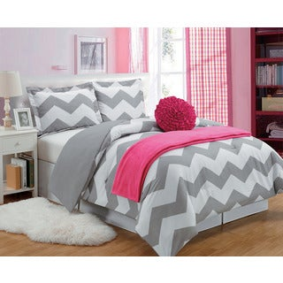 Chevron 5-piece Comforter Set