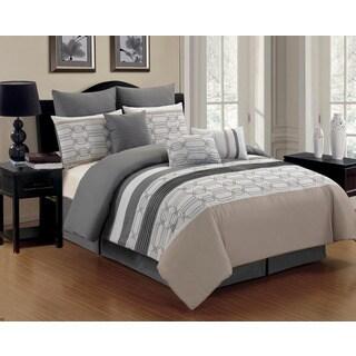 Hexagonal 8-piece Comforter Set