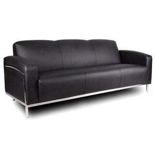 Boss Platinum Lounge Furniture Black with Chrome Frame