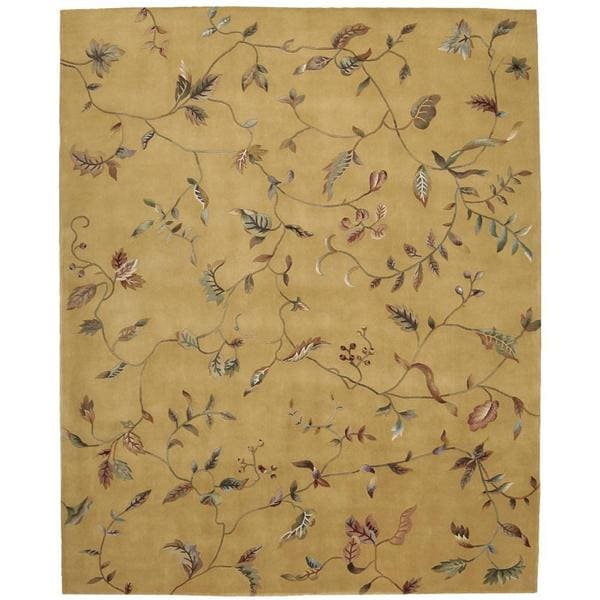Rug Squared Beaumont Gold Rug (8' x 11')