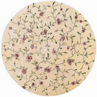 Rug Squared Beaumont Light Gold Rug (6' Round)
