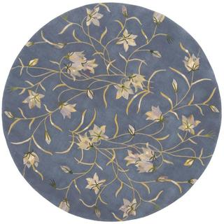 Rug Squared Beaumont Light Blue Rug (6' Round)