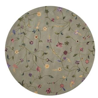Rug Squared Beaumont Light Green Rug (6' Round)