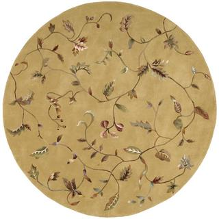 Rug Squared Beaumont Gold Rug (6' Round)