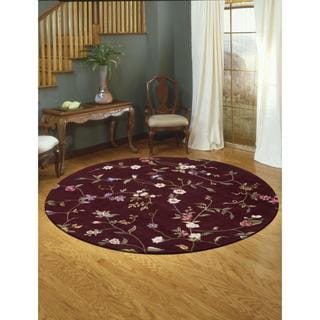 Rug Squared Beaumont Ruby Rug (6' Round)