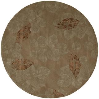 Rug Squared Beaumont Brown Rug (6' Round)