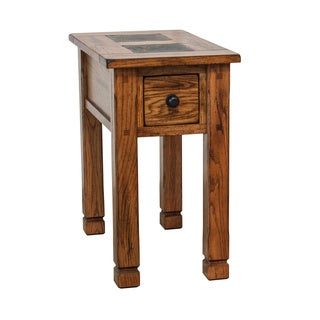 Sedona Rustic Chair Side Table