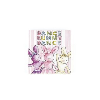 Jellycat Dance Bunny Dance Board Book