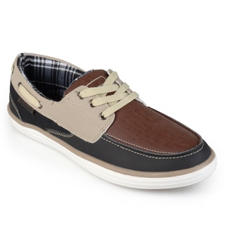 Boston Traveler Men's Lace-up Fashion Boat Shoes