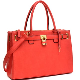 Dasein Keyed Up Padlock Tote