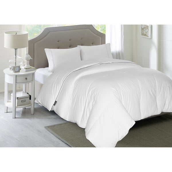 Elle 1200 Thread Count White Down Comforter