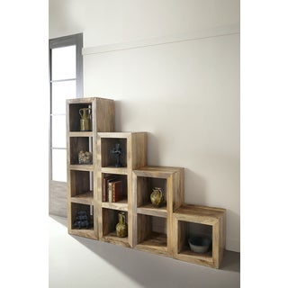 Christopher Knight Home Honey Mango Cube Bookshelf