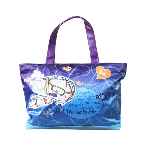 Hablando Sola Under the Sea Tote bag