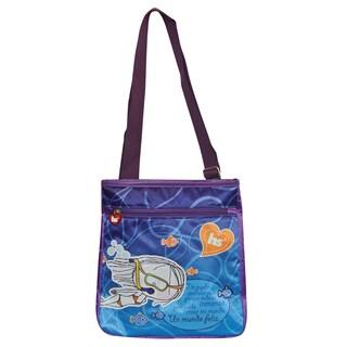 Hablando Sola Under The Sea Crossbody Messenger Bag