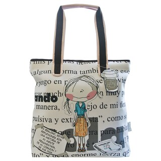 Hablando Sola Newspaper Tote Bag