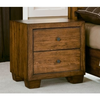 Angelo:HOME Chelsea Park Solid Wood Nightstand