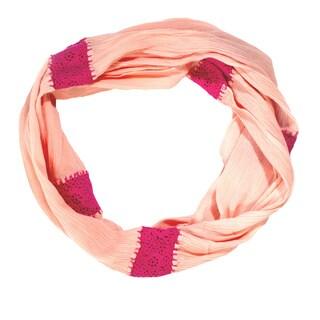 Rose Crochet Infinity Scarf (India)