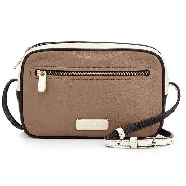 Marc by Marc Jacobs Blocked and Pieced Sally Cross-Body Bag