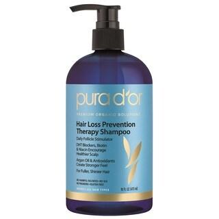 Pura D'or Argan Oil 16-ounce Premium Organic Hair Loss Prevention Shampoo