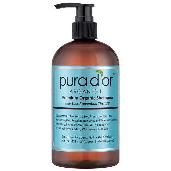 Pura D Or Argan Oil 16 Ounce Premium Organic Hair Loss