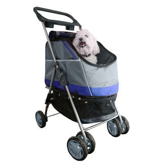 Pet Life All-Surface Convertible All-in-one Pet Stroller Carrier and Car Seat