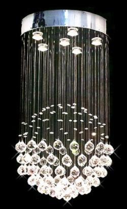 Modern Contemporary *Rain Drop* Chandelier Lighting With Crystal Balls