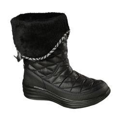 Women's Skechers Halo Ring Mid Calf Boot Black