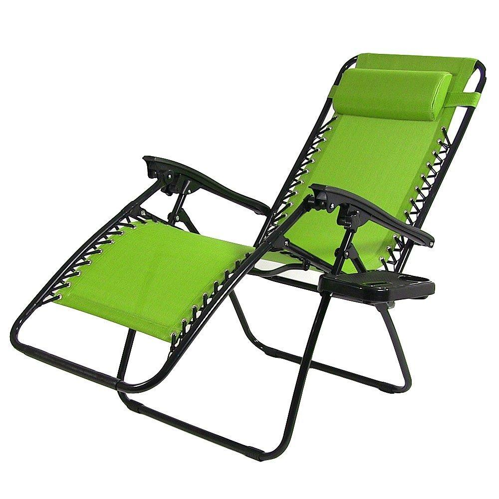 Sunnydaze oversized zero gravity lounge chair with pillow and cup holder 18534212 overstock - Oversized zero gravity lounge chair ...