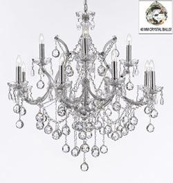 Maria Theresa Empress Crystal Chandelier Lighting H30 x W28