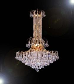 French Empire Crystal Chandelier Lighting H50 x W31