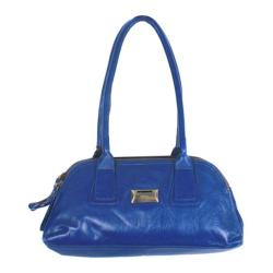 Women's Latico Louise Coinkeeper Shoulder Bag 7614 Marine Leather