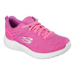 Girls' Skechers Burst Sneaker Hot Pink/Coral