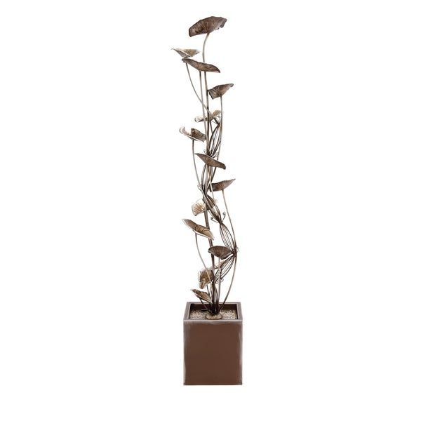 Metal Fountain, 14 inches wide x 84 inches high