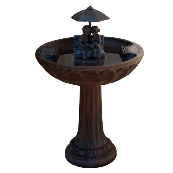 SS Solar Umbrella Fountain