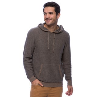 Cullen Men's Cashmere End on End Stripes Hoodie
