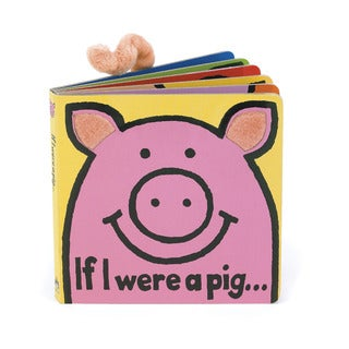 Jellycat Board Books, If I Were a Pig