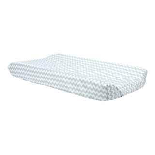 Trend Lab Blue Sky Chevron Changing Pad Cover