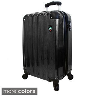 Mia Toro ITALY Spazzolato Lucido 29-inch Lightweight Hardside Expandable Spinner Upright Suitcase