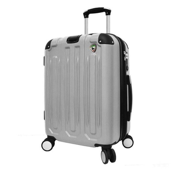 Mia Toro Metallo 26-inch Hardside Spinner Upright Suitcase