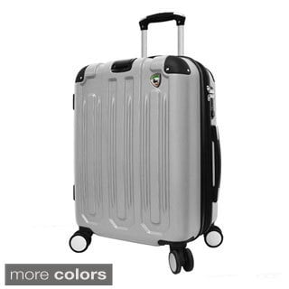 Mia Toro Metallo 26-inch Hardside Spinner Upright Suitcase