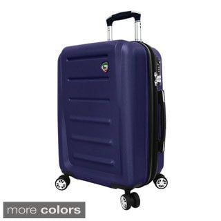 Mia Toro Moderno 24-inch Hardside Expandable Spinner Upright Suitcase
