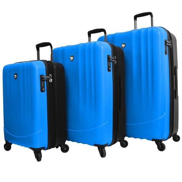 Mia Toro Polipropilene Lightweight Hardside 3-piece Spinner Luggage Set
