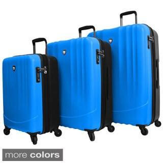 Mia Toro ITALY Polipropilene Lightweight Hardside 3-piece Spinner Luggage Set