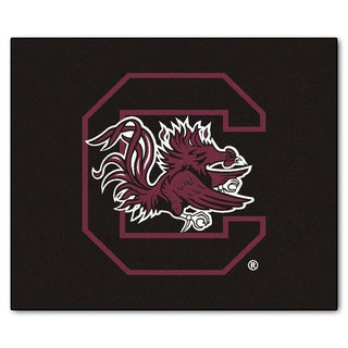 Fanmats Machine-Made University of South Carolina Black Nylon Tailgater Mat (5' x 6')