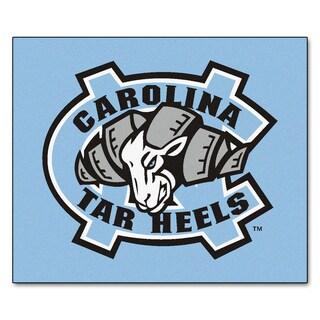 Fanmats Machine-Made University of North Carolina-Chapel Hill Blue Nylon Tailgater Mat (5' x 6')
